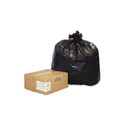 Earthsense Commercial Recycled Can Liners, 56 gal.,