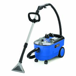 Windsor Priza 2.6 gallon carpet extractor w/ upright