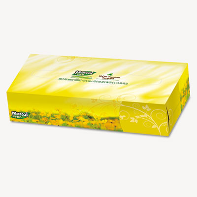 Marcal PRO 100% Premium Recycled Facial Tissue