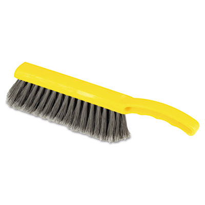 Rubbermaid Commercial Countertop Brush, Silver 1/2""