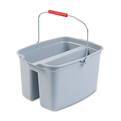 Rubbermaid Commercial 19-Quart Double Utility Pail,