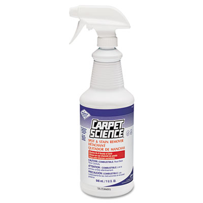 Carpet Science Spot And Stain Remover, 32 oz Trigger Spray