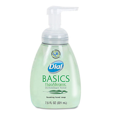 Dial Basics Foaming Hand Soap, 7.5 oz, Honeysuckle