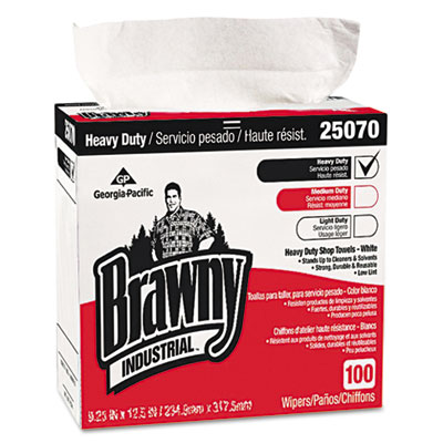 Georgia Pacific Professional Heavy Duty Shop Towels, 9 1/8
