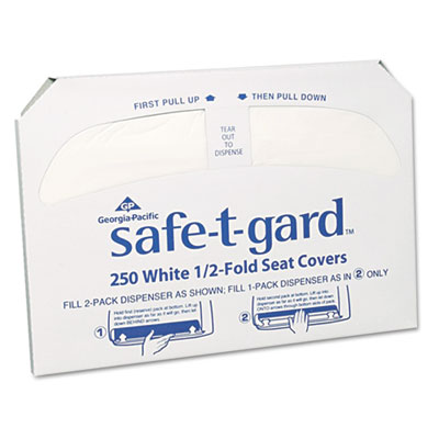 Georgia Pacific Professional Half-Fold Toilet Seat Covers,