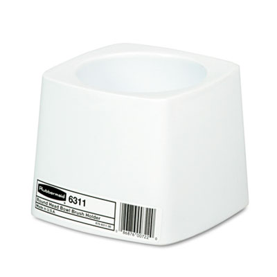 Rubbermaid Commercial Holder for Toilet Bowl Brush, White