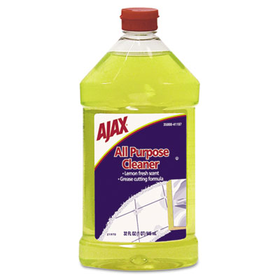 Ajax All-Purpose Liquid Cleaner, Lemon Scent, 32 oz.
