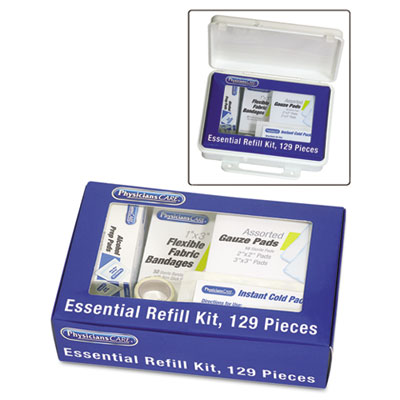 PhysiciansCare Essential Refill Kit, 129-Pieces