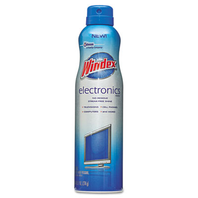 Windex Electronics Cleaner, Aerosol, 9.7 oz