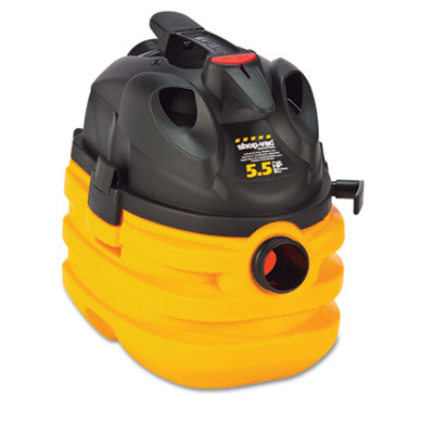 Shop-Vac Heavy-Duty Portable Wet/Dry Vacuum, 5-Gallon
