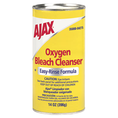 Ajax Oxygen Bleach Easy-Rinse Formula Cleanser, No