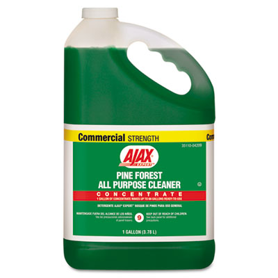 Ajax Pine Forest All-Purpose Cleaner, Pine Scent, 1 gal