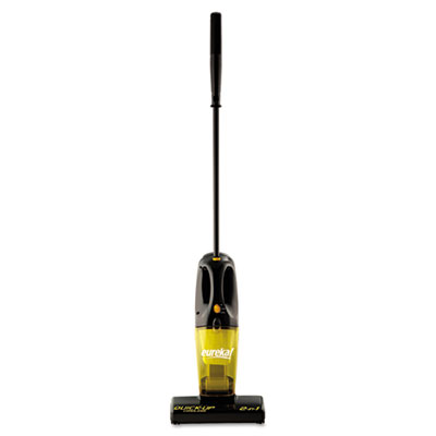 Eureka Quick-Up Cordless Vacuum, 5 lbs, Black/Yellow
