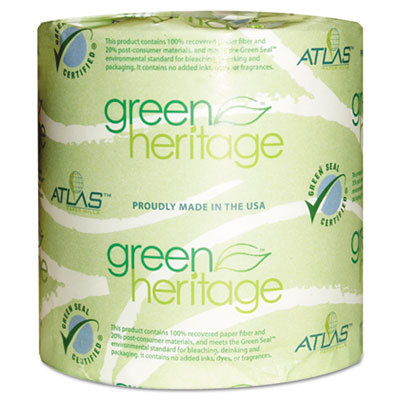 Atlas Paper Mills Green Heritage Bathroom Tissue,