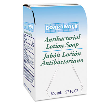 Boardwalk Antibacterial Soap, Floral Balsam, 800ml Box