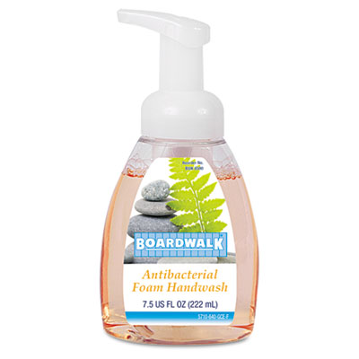 Boardwalk Antibacterial Foam Hand Soap, Fruity, 7.5 oz