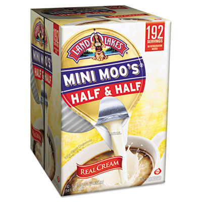 Land O' Lakes Mini Moo's Half & Half, .5 oz, 192/Carton