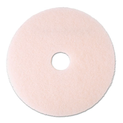 "3M Eraser Burnish Floor Pad 3600, 20"", Pink"