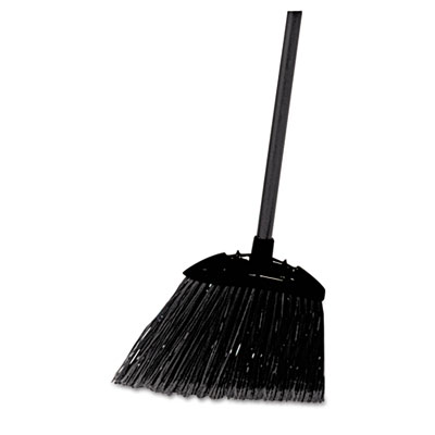 Rubbermaid Commercial Lobby Pro Broom, Poly Bristles, 28""