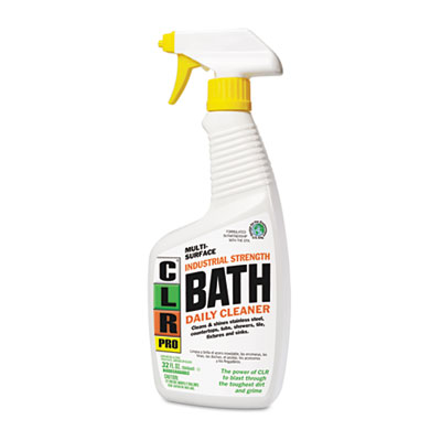 CLR PRO Bath Daily Cleaner, Light Lavender Scent, 32 oz.