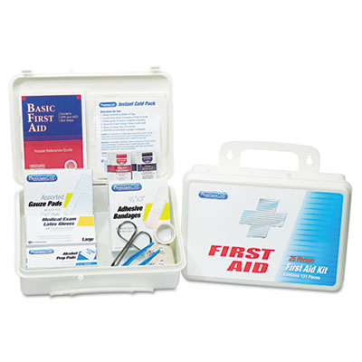 PhysiciansCare Office First Aid Kit, for Up to 25 People,