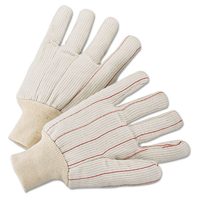 Anchor Brand 1000 Series Canvas Gloves, Green, Large