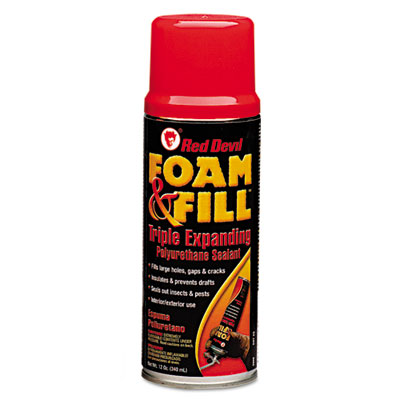 Red Devil Foam & Fill Expanding Polyurethane