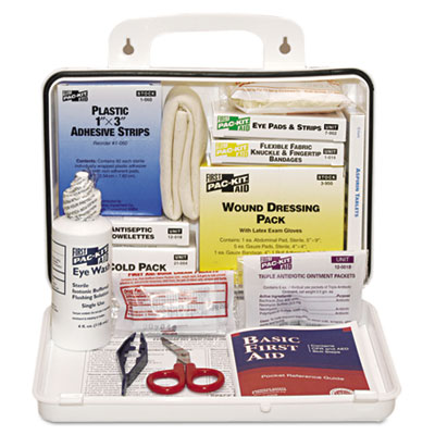 Pac-Kit ANSI Plus #25 Weatherproof First Aid Kit,