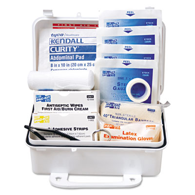 Pac-Kit ANSI Weatherproof Plastic First Aid Kit, 7 1/2""