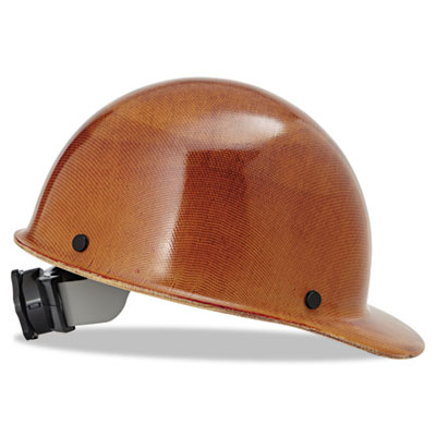 MSA Skullgard Hard Hats with Ratchet Suspension, Stand.
