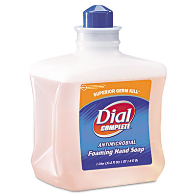 Dial Complete Antimicrobial Foam Hand Soap, 1 Liter Refill
