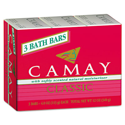 Camay Bath Bar, Floral Scent, 4 oz Bar