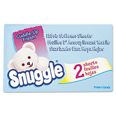 Snuggle Vending-Design Fabric Softener Sheets, Fresh Scent,