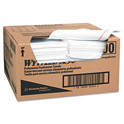 KIMBERLY-CLARK PROFESSIONAL* WYPALL X50 Wipers, 23 1/2w x