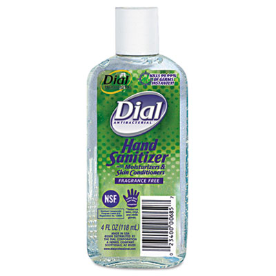 Dial Antibacterial Hand Sanitizer with Moisturizers,