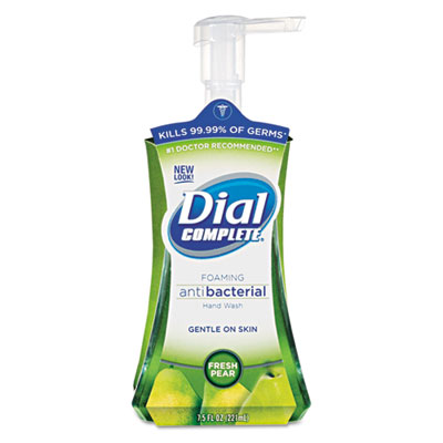 Dial Complete Foaming Hand Wash, Fresh Pear, 7.5 oz Pump