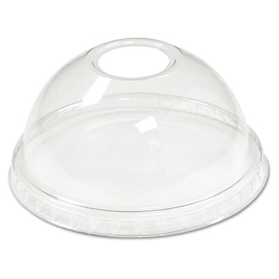 Boardwalk Cold Cup Dome Lids, Fits 5-20oz Cups, Clear