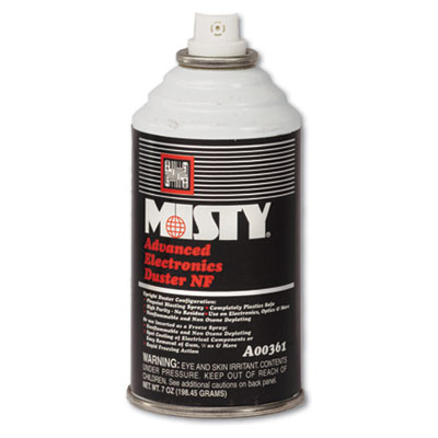 Misty Advanced Electronics Duster, 12 oz. Aerosol Can