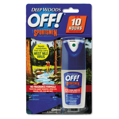 OFF! Deep Woods Sportsmen Insect Repellent, 1 Ounce