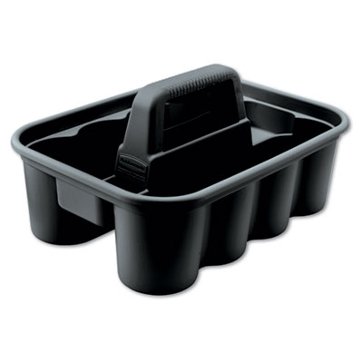 Rubbermaid Commercial Deluxe Carry Caddy, Black