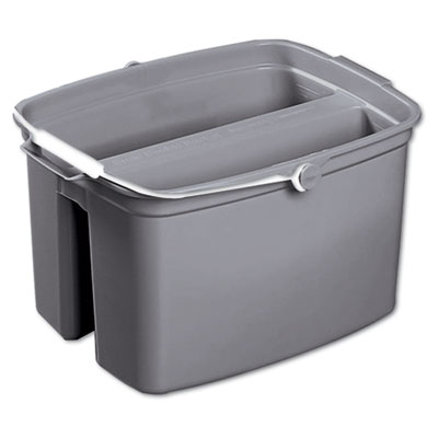 Rubbermaid Commercial 17-Quart Double Utility Pail,