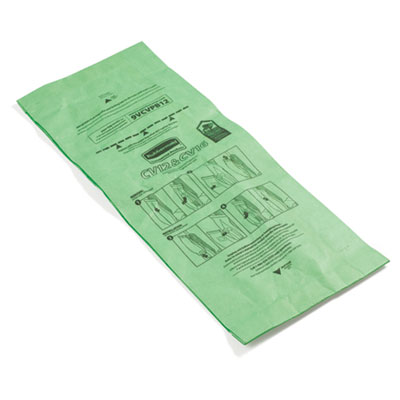 Rubbermaid Commercial Vacuum Bags, Paper, For Rubbermaid