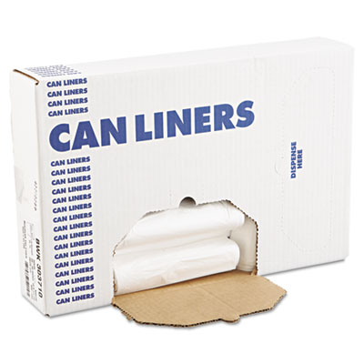 Boardwalk High-Density Can Liners, 30 x 35, 30-Gal, 10