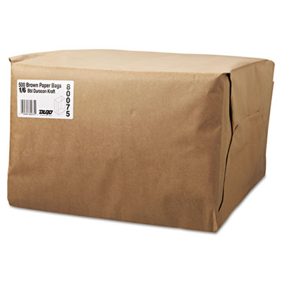 General 1/6 52# Paper Bag, 52-Pound Base Weight, Brown