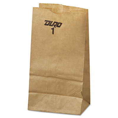 General 1# Paper Bag, 30-Pound Base Weight, Brown