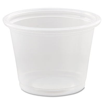 Dart Conex Polypropylene Portion Container, Clear, 1