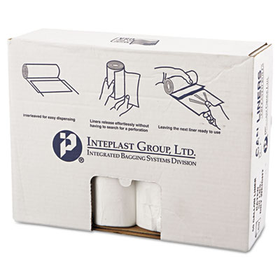 Inteplast Group High-Density Can Liner, 38 x 58,