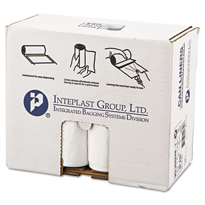 Inteplast Group Low-Density Can Liner, 30 x 36,