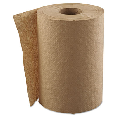 "GEN Hardwound Roll Towels, 1-Ply, Natural, 8"" x 300ft"