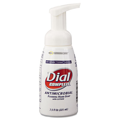 Dial Antimicrobial Healthcare Foaming Hand Soap, 7.5 oz